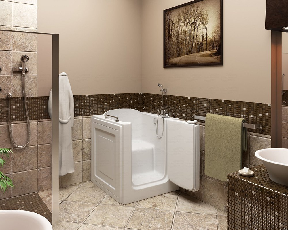 Compact Walk-in Tub